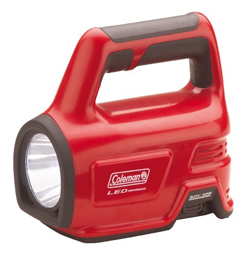 Coleman 2000009585 LED-lamp CPX 6 - Heavy Duty lamp, rood (27 x 25 x 11 cm)