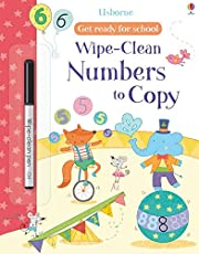 Wipe-Clean. Numbers To Copy (Get Ready For School Wipe-clean Books)