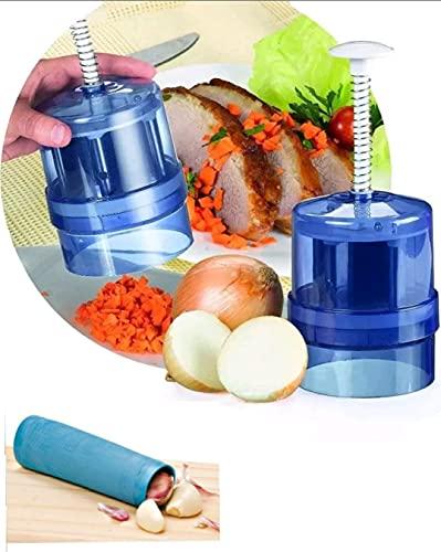 Kit Triturador Alho Cebola + Descascador Alho - Bela Cozinha