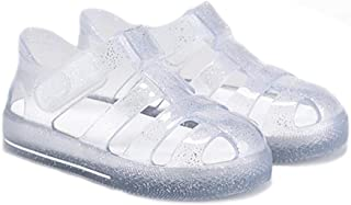 Igor Star Glitter, Sandales pour fille avec fermeture Velcro pour plage et piscine