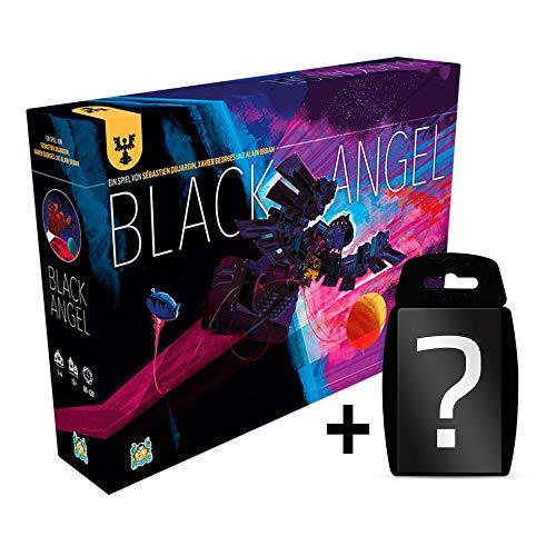 Black Angel - Brettspiel   DEUTSCH   Set inkl. Kartenspiel