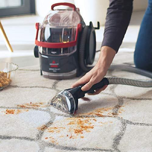 Bissell 1558N SpotClean Professional Flecken-Reinigungsgerät für Teppiche und Polster, tragbar, 750 W & Bissell 1134N Oxygen Boost Reinigungsmittel für alle Fleckenreinigungsgeräte, geeignet