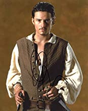 Orlando Bloom PIRATES OF THE CARIBBEAN In Person Autographed Photo