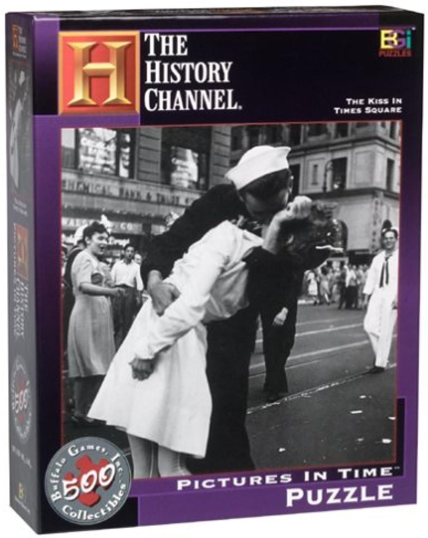 barato The History Channel The Kiss in Times Square Pictures Pictures Pictures in Time Puzzle by Buffalo Juegos  nuevo estilo