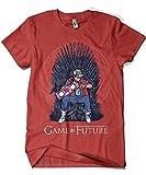 Camisetas La Colmena 1501-Game of Thrones - Game of Future (Granate, S)