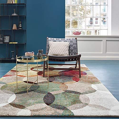 ESPRIT Modernina Moderner Markenteppich, Polypropylen, Mehrfarbig, 170 x 120 x 1.3 cm