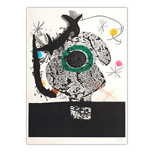 Woondecoratie Doek Kunst Muur Foto's voor woonkamer Poster Canvas Afdrukken Schilderijen Spaans -50x70cm Geen lijst