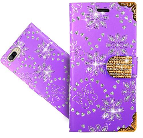 Doogee X20L / X20 Handy Tasche, FoneExpert® Wallet Hülle Cover Bling Diamond Hüllen Etui Hülle Ledertasche Lederhülle Schutzhülle Für Doogee X20L / X20