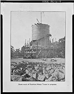 HistoricalFindings Photo: Rockford Water Tower,Rockford Park,Wilmington, Castle County,DE,Delaware,8