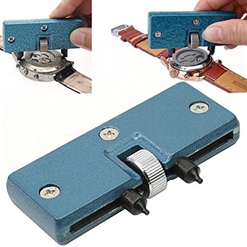 Fantiff Uhrmacher-Entferner, Reparaturwerkzeug, Werkzeug zum Anschrauben, Rückseite, Verstellbarer ?ffner, Reparaturwerkzeuge und Kits