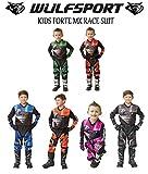 Wulfsport Firestorm Rennanzug für Kinder, Set aus...