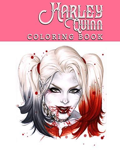 51oOhr6kFqL Harley Quinn Coloring Books