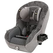 Rear-facing: 5-40 pounds Forward-facing in harness 22-65 pounds Adjustable headrest grows with your child
