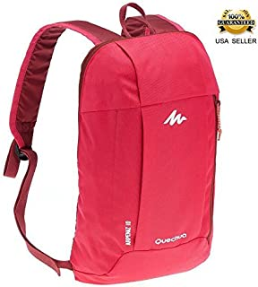 Backpack 10 Liters pink ARPENAZ, X-Sports Decathlon, water repellent, for adult and Children