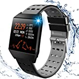 <span class='highlight'><span class='highlight'>Beaulyn</span></span> Smart Watches, Fitness Trackers Smartwatch Colorful Screen with Heart Rate, Sleep Tracking, Steps Counter, Call SMS SNS Reminder Waterproof Activity Tracker for men women Android iOS