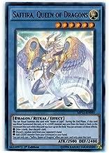 Yu-Gi-Oh!! - Saffira, Queen of Dragons (MP15-EN095) - Mega Pack 2015 - 1st Edition - Ultra Rare