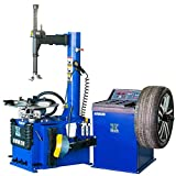 CHIEN RONG New 1.5 HP Tire Changer Wheel Changers Machine Balancer Rim Clamp Combo 950 680/12 Month Warranty