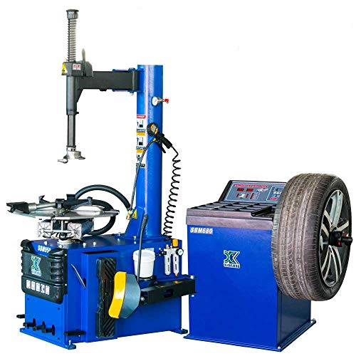 Price comparison product image CHIEN RONG New 1.5 HP Tire Changer Wheel Changers Machine Balancer Rim Clamp Combo 950 680 / 12 Month Warranty