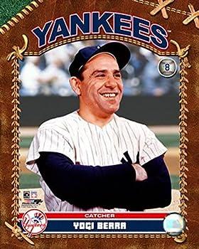 Yogi Berra Photo 8 x 10in