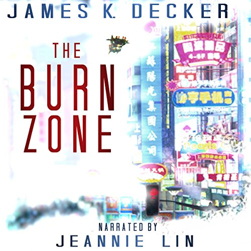 The Burn Zone audiobook cover art