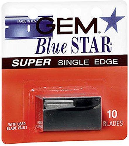 Price comparison product image Gem Blue Star Super Single Edge Blades