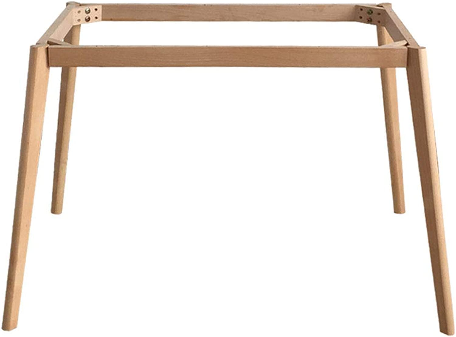 Furniture feet, Dining Table Legs, Frame, Solid Wood Table Legs, Brackets, Load-Bearing 100kg