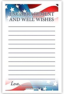 Military New Recruit Encourage and Advice Cards - Set of 30