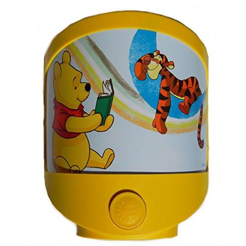 Lampe veilleuse Disney Winnie l'Ourson Tigrou enfant bébé, pile ou adaptateur