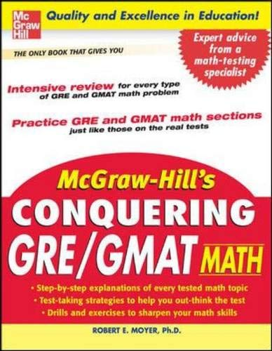 McGraw-Hill's Conquering GRE/GMAT Math