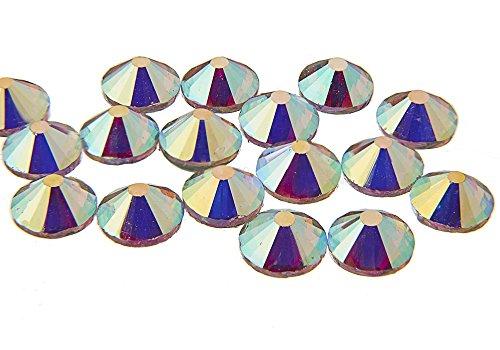 EIMASS 14.400Factory Direct, folienbeschichtete® Hot Fix Strass Bügeln, flache Rückseite Kristalle, Diamantenform