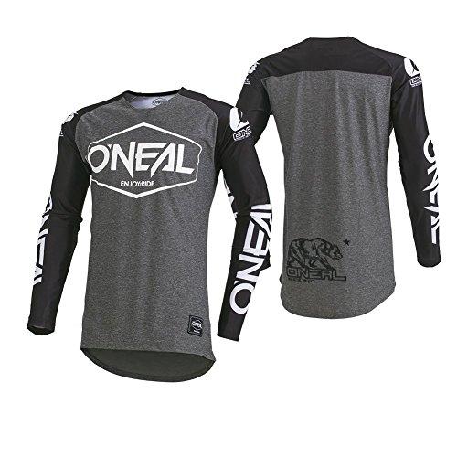O'NEAL Mayhem Hexx MX Jersey Trikot lang grau/schwarz 2020 Oneal: Größe: M (48/50)