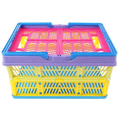 DEWIN Hand Basket - Opbergmand Outdoor Gekleurde Vouwen Multifunctionele Opslag Hand Mand Voertuig gemonteerd Verpakking Box