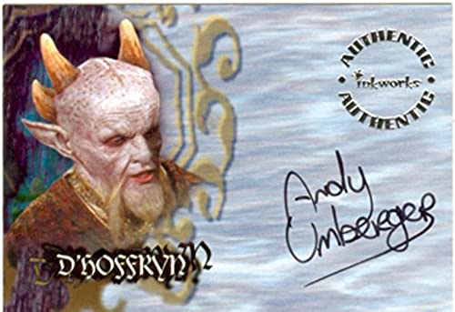 Buffy T.V.S. Season 6 Autogrammkarte A37 Andy als Dhoffryn Umberger