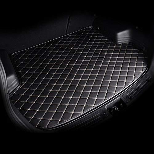 BNHHB Autokofferraummatte Lederschutzunterlage für Peugeot 4008 RCZ 308 508 301 3008 206 307 207 2008 408 5008 607, Kofferraumwanne Laderaumwanne Kofferraummatten Laderaumschale Schutzmatte