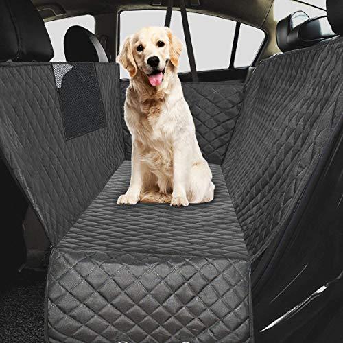 Ferocity Car Hondendeken gewatteerd voor de achterbank & kofferbak met zijbescherming, autobescherming, waterdichte kofferbakbeschermer voor honden [115] 138 cm x 203 cm Basis