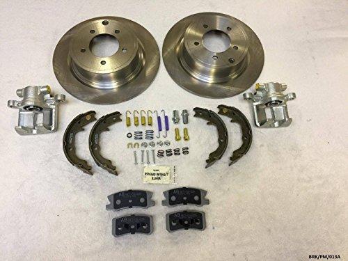 Carlson kit de réparation de freins arrière Grand Calibre PM 2007–2012/Avenger 2007–2014 Disques 302 mm Diamètre