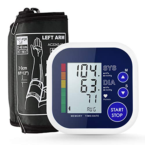 Blood Pressure Monitor, ATMOKO Accurate Electric Upper Arm Blood Pressure...