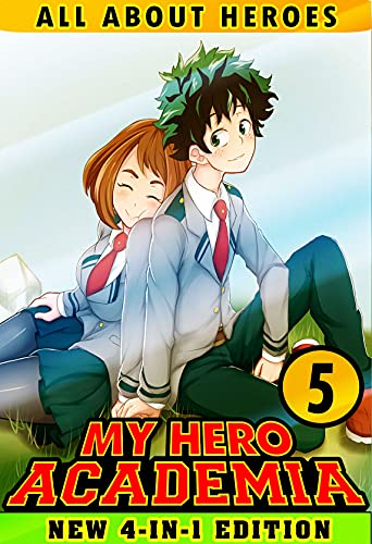 About All My Hero: Book 5 Collection - Fantasy Manga Academia Adventure Action Shonen For Children Kids (English Edition)