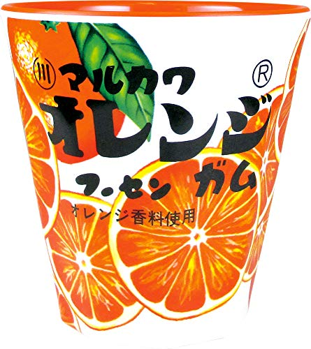 ティーズファクトリー メラミンカップ お菓子シリーズ マルカワフーセンガム オレンジ 250ml 8.8×8.8×9.1cm