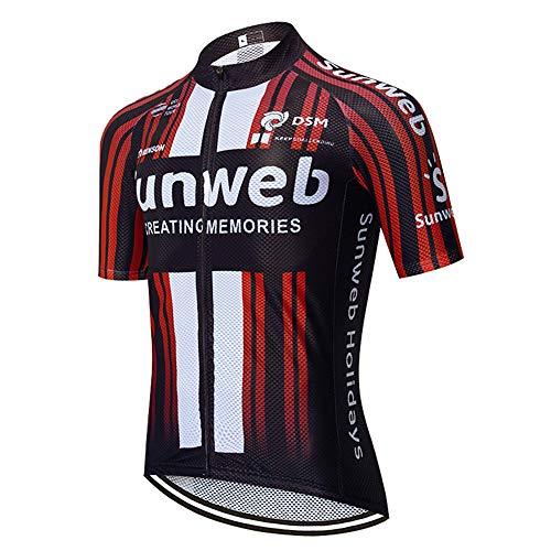 CQXMM Herren Radsport Trikots Kurzarm Bike Shirt