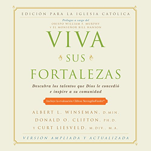 Viva sus fortalezas audiobook cover art