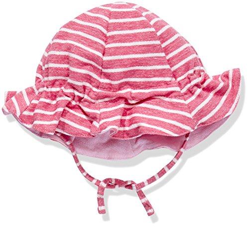 Barts Frottee Sonnenhut 86632081 Emu Hat in pink-weiß gestreift Gr. 47 (12mns - 1,5 yrs)