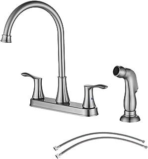 Amazon Com Kitchen Faucets Centerset Kitchen Faucets Kitchen Fixtures Tools Home Improvement