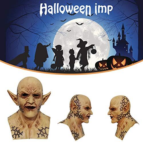 NANUNU Halloween Latex Mundschutz Scary Vampir-Mund-Abdeckung Halloween-Kostüm-Party Mouth Abdeckung Halloween Cosplay Werkzeuge