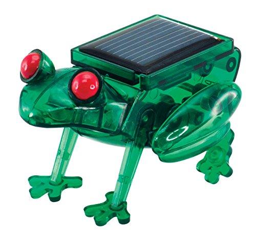 EDU-TOYS Solarbetriebener Frosch Solarmodell Solar Bausatz