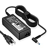 HIBBO for HP Smart Blue Tip Laptop Charger, 19.5V 45W Compatible Pavilion x360 11 13 15, Elitebook Folio 1040 G1, Stream 13 11 14, Spectre ultrabook 13, Envy x2 and More AC Adapter Power Supply