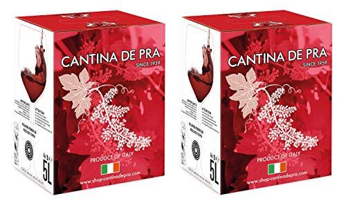De Pra - Confezione 2 Bag in Box Raboso del Veneto Igt - 2 confezioni da 5l