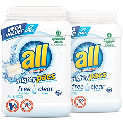 Laundry Detergent Pacs & Tablets