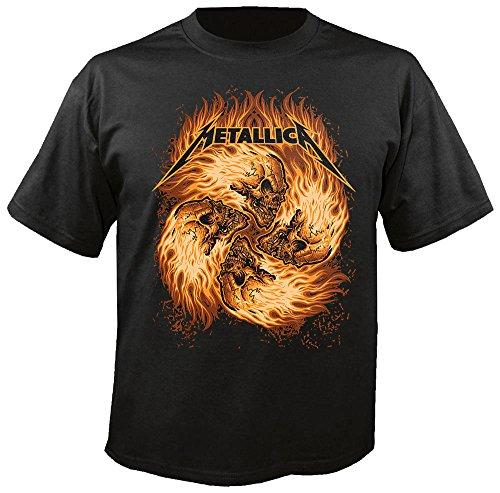 METALLICA - Circle Skull - T-Shirt Größe XL