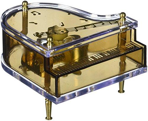 Musicbox Royaume Piano à Queue en Plastique Boîte Déco
